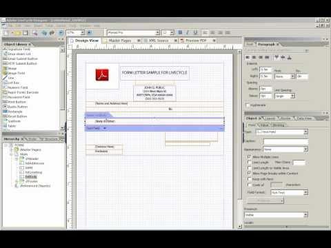 Form Flow in Adobe LiveCycle Designer ®