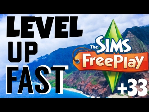 2 Simple Ways to Level Up Fast | The Sims Freeplay | Level 33