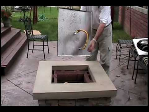 ICS Fire Pit Assembly in your backyard in 30 minutes