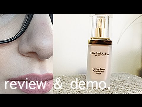 ELIZABETH ARDEN FLAWLESS FINISH PERFECTLY SATIN REVIEW & DEMO