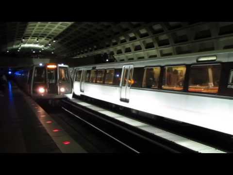 DC Metro train arrival - October 2011