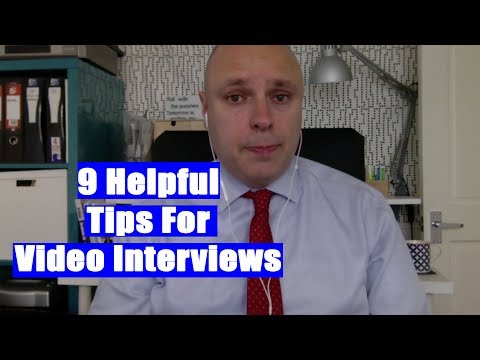 9 Useful Tips for Video Interviews | The Great Grad Job Hunt