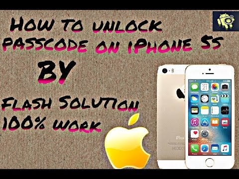How to Bypass iPhone 5 & 5s Passcode Without Computer by flash solution