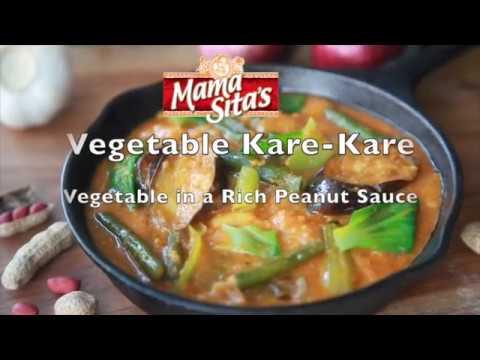 Mama Sita's Vegetable Kare Kare