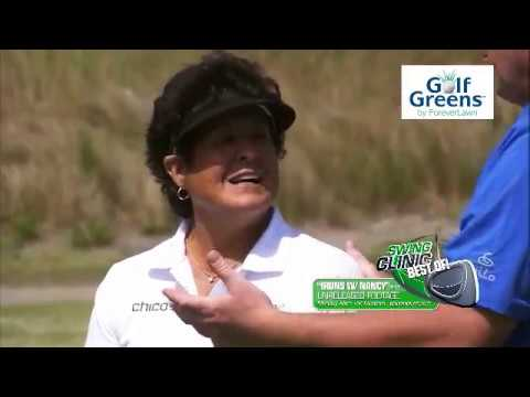 Golf Tip:  Hitting iron shots with Nancy Lopez