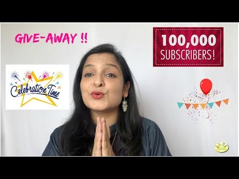 100,000 Subscribers Celebration, GIVEAWAY , Life Update, 5 lucky winners