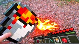 REALISTIC MINECRAFT IN REAL LIFE ELSA VS HULK ~ IRL ANIMATION  The Best Episode Top 5 Minecraft
