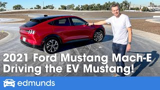 2021 Ford Mustang Mach-E Review: The Electric Mustang SUV | Price, Interior, Range & More