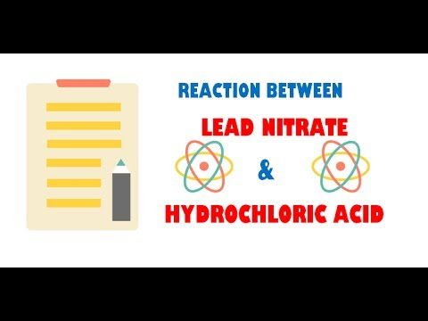 Lead Nitrate and Hydrochloric Acid ( Reaction )