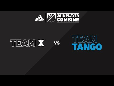 Team X vs. Team Tango | adidas MLS Combine 2018