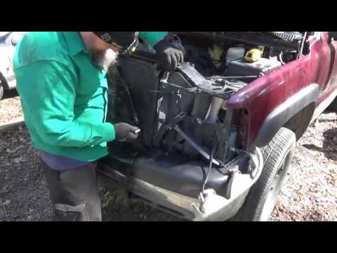 Power Steering fluid cooler replacement on a 2002 2500HD Chevy