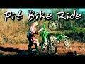 GoPro: Two KLX 110 PIT BIKES Trail Riding!