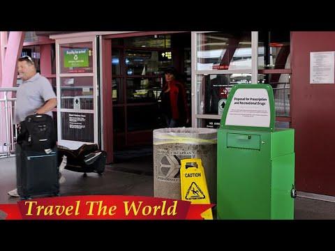 Las Vegas airport installs dustbins formarijuana  - Travel Guide vs Booking