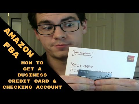 Amazon FBA Step 2: Business Credit Card and Business Checking Account