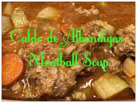 Tricia's Creations: Caldo de Albondigas / Meatball Soup
