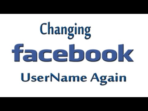 Changing Facebook Fan Page Username Again