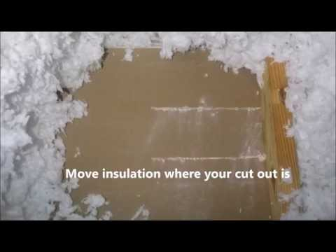 DIY How to Install Additional Air Vent for AC Heat