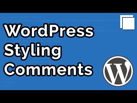 How to Style WordPress Comments Tutorial