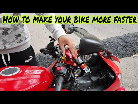 How to make your bike Run more Faster | Tips to gain Speed on your bike