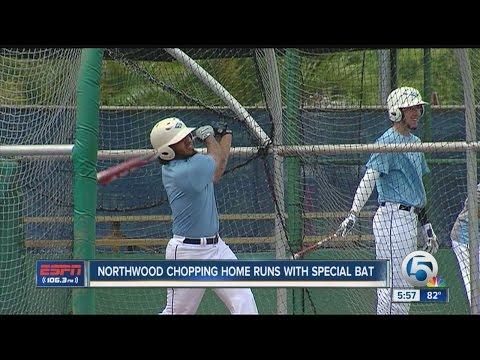 Northwood Baseball Hitting Home Runs with Special Bat