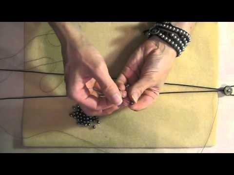 wrap bracelet with button clasp