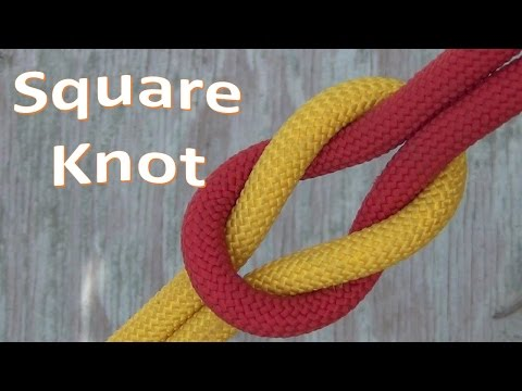 How to Tie the Square Knot