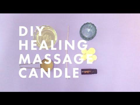 HEALING MASSAGE CANDLE