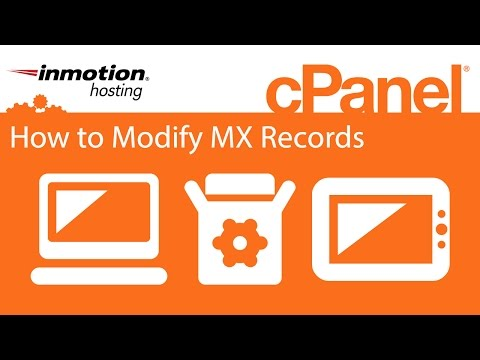 cPanel: How to Modify MX Records