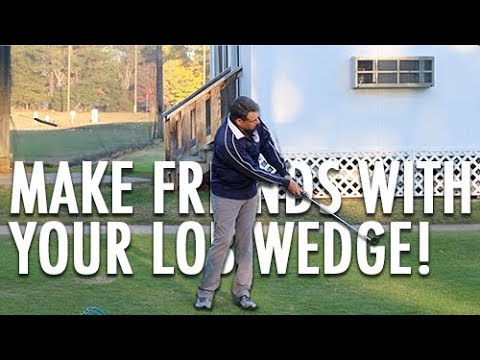 Make Friends with Your 60 Degree (lob wedge)