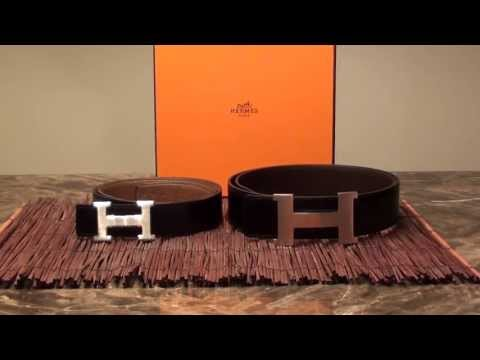 Hermes H Buckle Belt Comparison Overview 42mm vs 32mm Large vs Medium Constance