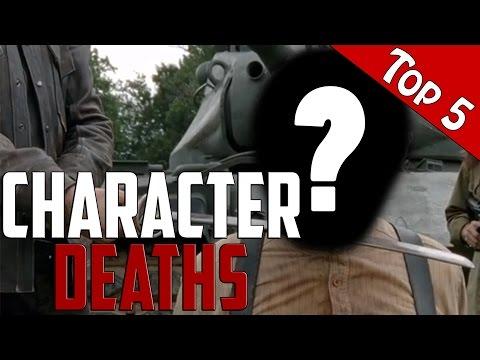 The Walking Dead Top 5 Character Death Scenes