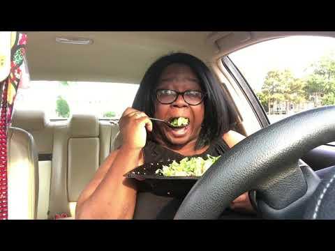 Car Mukbang-Zaxby's Blackened Blue Salad