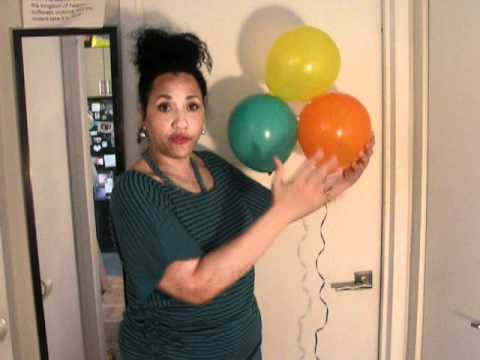 DIY/Balloons/Cheap Party Decorations!
