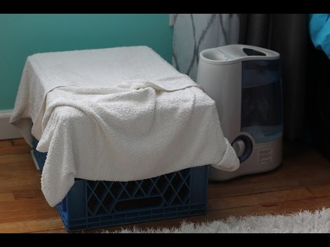 Humidifier in Winter - Free Trick to Add Moisture to Bedroom