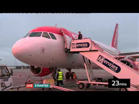 ITV News Anglia - Stansted Live show