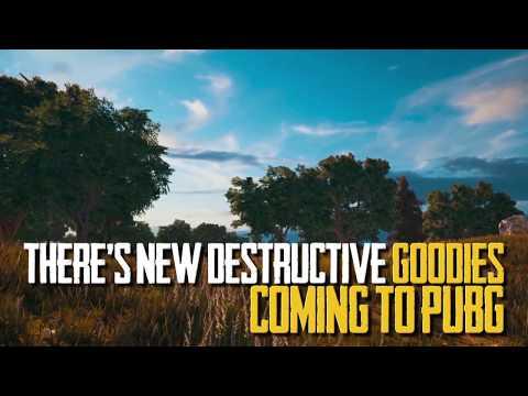 New Destructive Goodies coming to PUBG