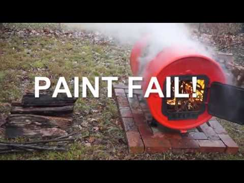 Barrel Stove - FAIL!