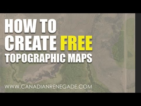 How to make a FREE Topographic Map for Permaculture Design