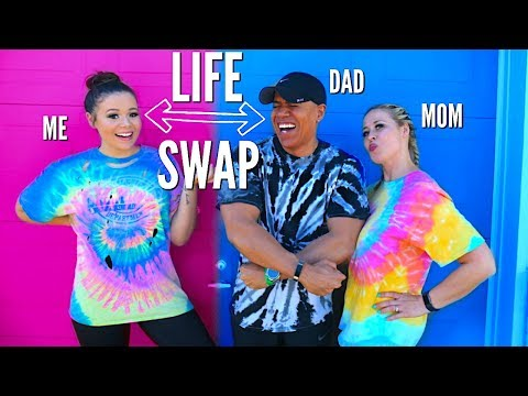 My Parents Live A Day In My Life!