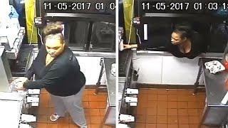 Thief Breaks Into McDonald