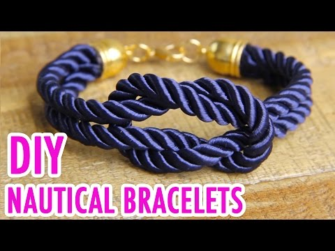 3 DIY Nautical Rope Bracelets - HGTV Handmade