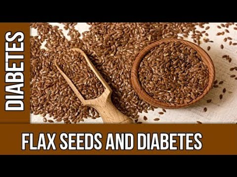 Diabetes and Flax Seeds | Flax seeds effect on diabetes |   Is flax seeds beneficial for diabetes ??