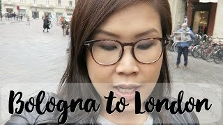 黑咪Travel | 快閃意大利Bologna再到達倫敦 London Day 1