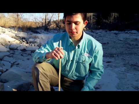 Hand Drill Friction Fire Step-by-Step Tutorial: Making Drill to Starting Fire!