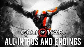 GOD OF WAR All Intros and Endings