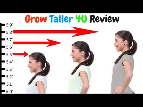 Grow Taller 4U Review - The fastest way to increase the height of 6 inches in 90 days 2018