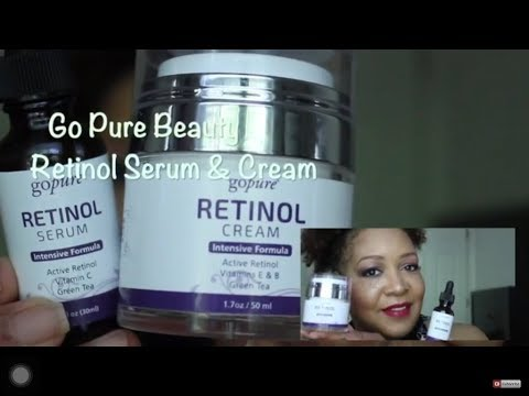 Anti- Aging skin care routine using Retinol Cream & Serum | NeeCJae