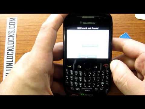 How To Unlock BlackBerry Curve 8520 by Unlock Code From UnlockLocks.COM