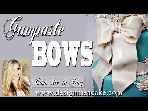 Learn to Make Gumpaste/Fondant Bows