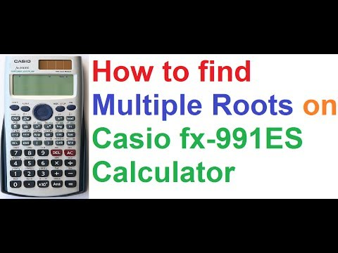 How to Find Multiple Roots on Casio fx-991ES Scientific Calculator